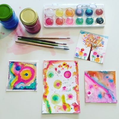 Flowing with Abundance – Intuitive Painting with Watercolors