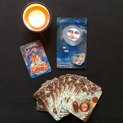 FULL MOON READING WITH MY INNER COMPASS ORACLE DECK