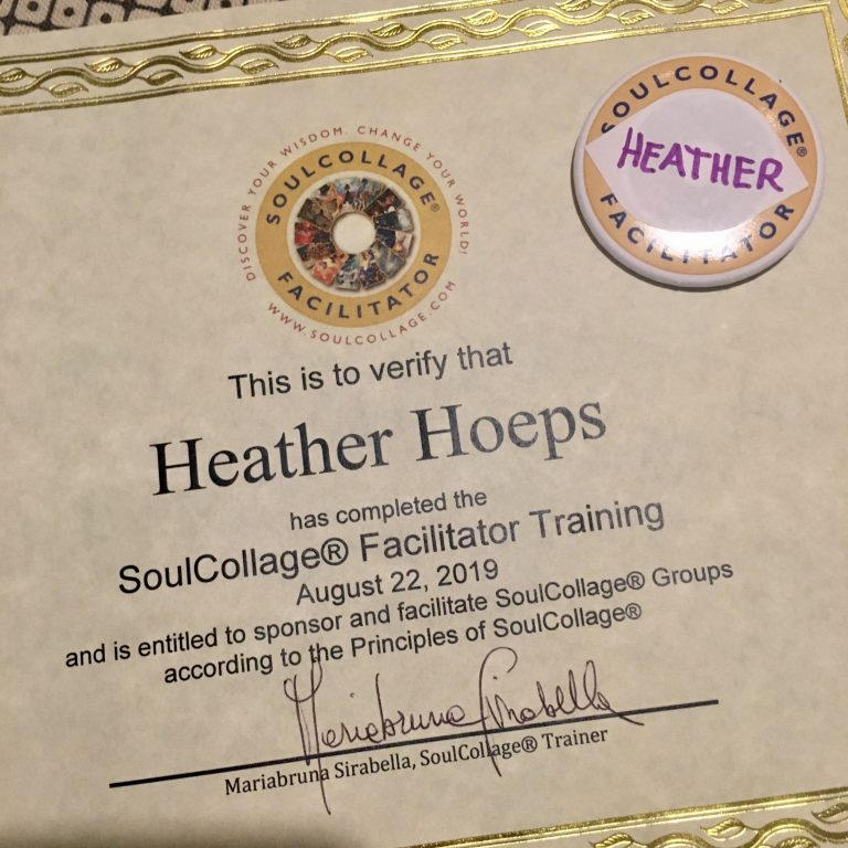 Becoming a SoulCollage® Facilitator