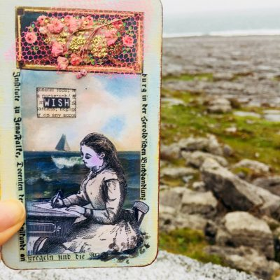 HOW ONE OF MY ORIGINAL ORACLE CARDS TRAVELLED TO IRELAND…